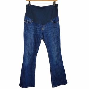 Old Navy Maternity Flare Jeans 4 Full Belly Band
